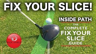 HOW TO FIX YOUR GOLF SLICE & FIND MORE FAIRWAYS