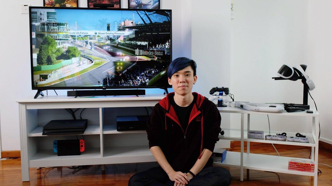 Console Gaming Setup 2017 Youtube