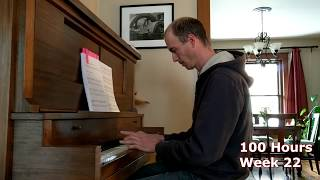 First 100 Hours of Piano Practice: What to Expect