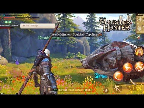 Top 10 Monster Hunter Games For Android 2020 HD OFFLINE / ONLINE