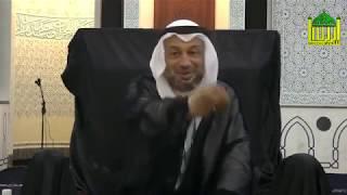 السيد مصطفى الزلزلة - أبو حنيفة يسأل الإمام الكاظم عليه السلام في صغره أين يقضي حاجته