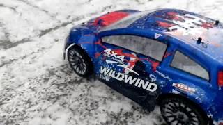 HSP Racing Wild Wind Rally 1:14 БК перший сніг 5