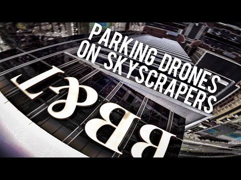 Building Parking with Drones