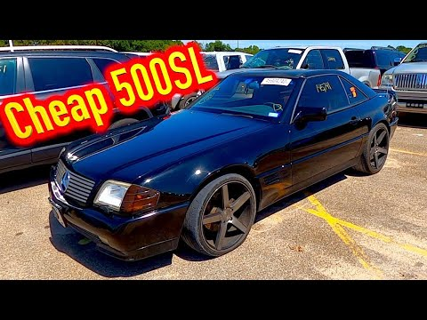 Copart Walk Around with Monkey Wrench Mike + Cheap 93 SL500!! 8-20-2020