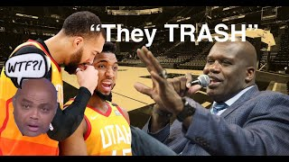 Shaq HATING on Donovan Mitchell and Rudy Gobert For Five Minutes Straight...   #InsideTheNBA #Shaq
