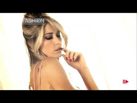 """Elena Santarelli """"Infiore"""" Spring Summer 2013 Collection Backstage Photoshoot by Fashion Channel"""