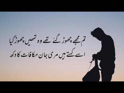 tum-mujhe-chor-gaye-the-wo-tumhe-chor-gaya- -urdu-poetry- -urdu-lyrics