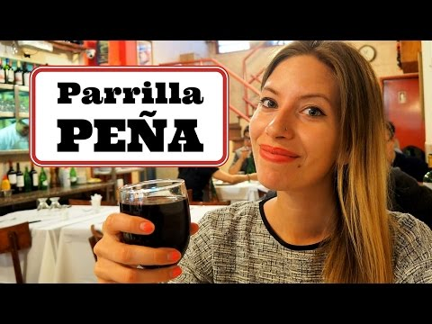 Our Favorite Argentinian Food in Buenos Aires at Parrilla Peña Steakhouse