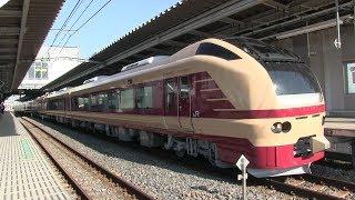 JR武蔵野線 吉川美南駅 E653系「国鉄色」(水戸梅まつり)