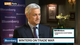 Standard Chartered CEO Winters on Trade, Global Economy, China