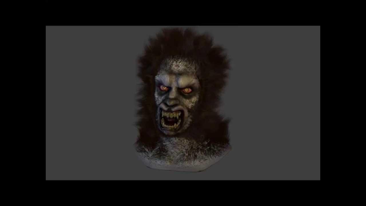 Werewolf GIF transformation animation - YouTube  Werewolf Transformation Animation