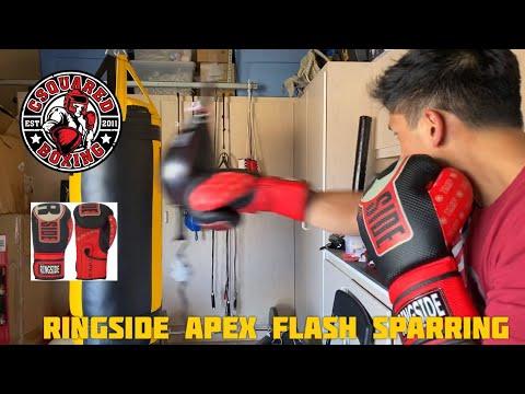 DOUBLE END BAG TRAINING- Ringside Apex Flash Sparring Gloves