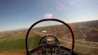 Alenia Aermacchi M-346 RC JET onboard + last flight