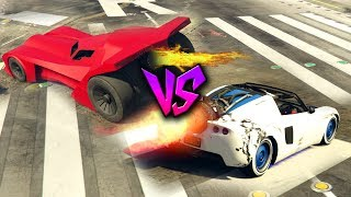 BATMOBILE vs ROCKET VOLTIC