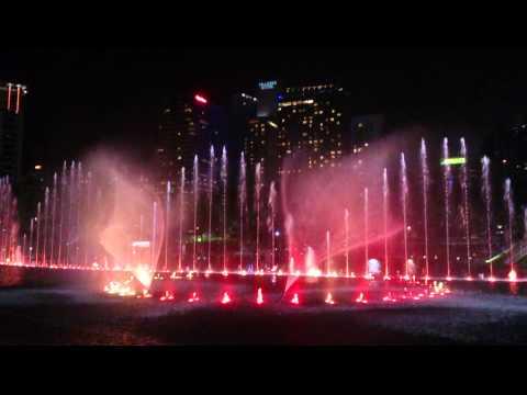 Dancing Fountain in Kuala Lumpur