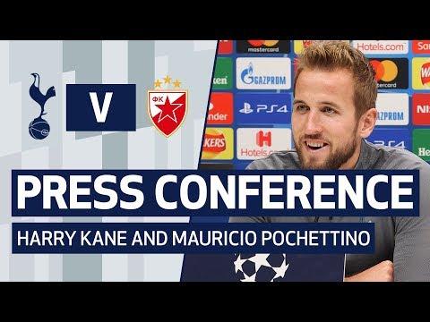 PRESS CONFERENCE | Harry Kane and Mauricio Pochettino pre-Crvena Zvezda