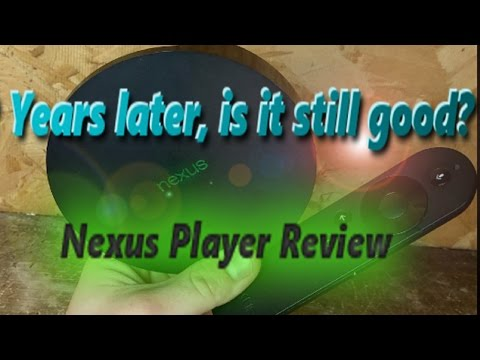 Nexus Player 2 years and Android 7.1.2 later Review/Unboxing