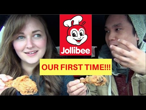 First Time Jollibee in SEATTLE!!! Filipino American Couple