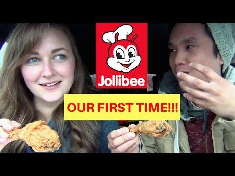 First Time Jollibee in SEATTLE!!! Filipino American Couple