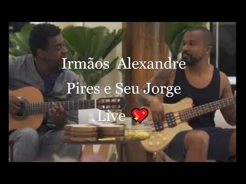 Download Live Irmãos  Alexandre Pires e Seu Jorge  A live que emocionou o Brasil! (apenas áudio) | 🥵.. 5k ..🥵