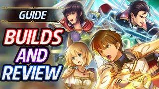 Leif, Sword Reinhardt, Green Olwen & Nanna Builds & Review - Fire Emblem Heroes Guide