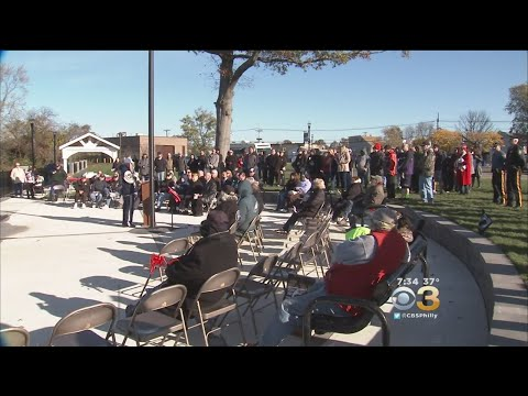 Bellmawr Dedicates New Veterans Park