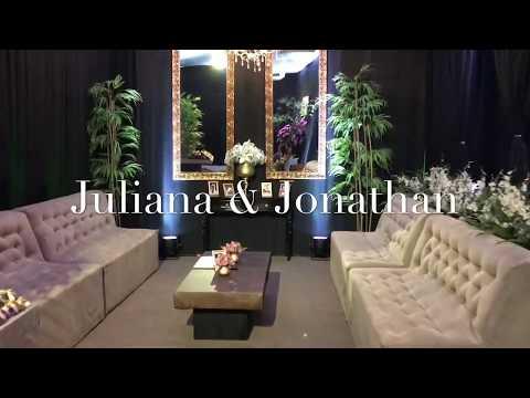 Juliana e Jonathan - Espaço Adriano Guedes