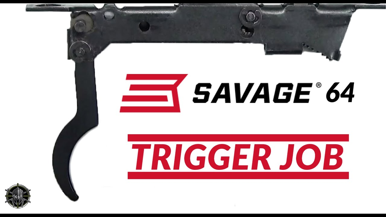 Savage 64 Disassembly and Trigger Job plus Cleaning Instructions by MCARBO