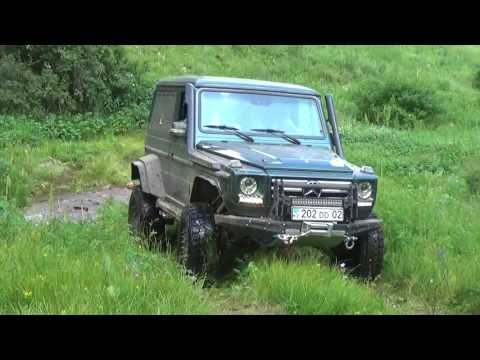 OFF ROAD Kazakhstan - горы, Mercedes G-Class, Land Rover Defender, УАЗ