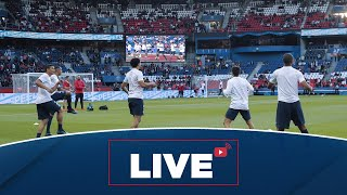 Avant-match Paris Saint-Germain  Real Madrid au Parc des Princes