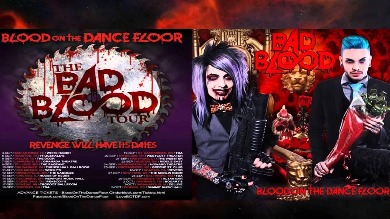 Blood On The Dance Floor Album Quotbad Bloodquot Tracks Youtube