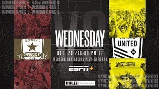 2019 Championship Playoffs: Sacramento Republic FC vs. New Mexico United