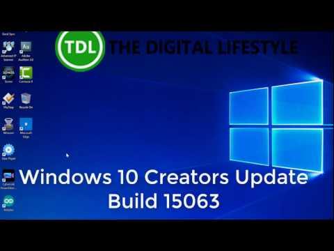 Hands on with Windows 10 Creator Update Build 15063