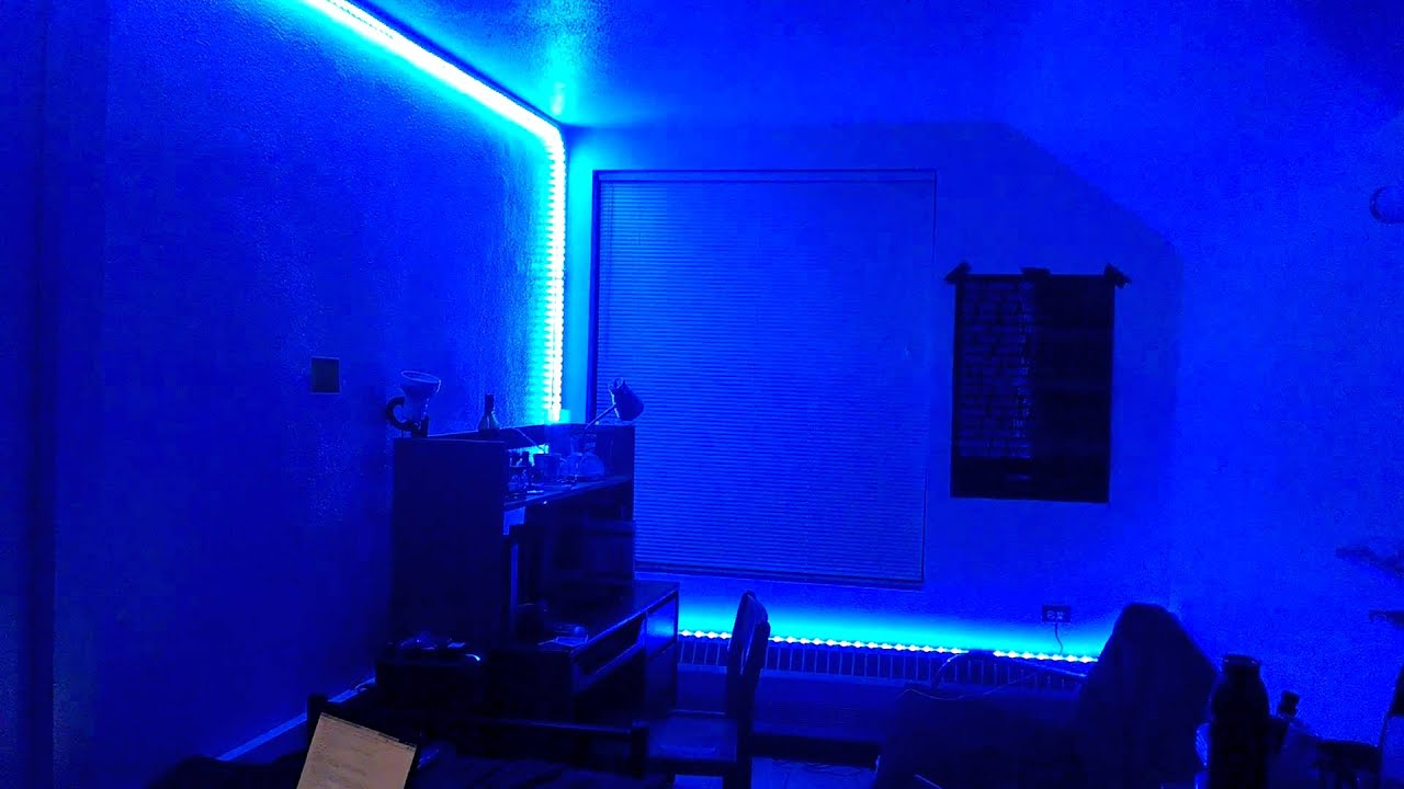 led dorm room youtube. Black Bedroom Furniture Sets. Home Design Ideas