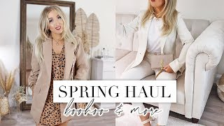 2020 SPRING TRY-ON CLOTHING HAUL | BOOHOO