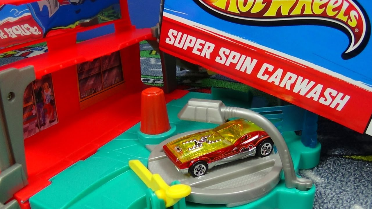 Hot Wheel Car Wash Pic