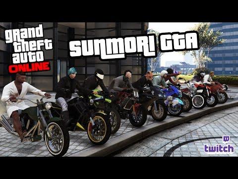 GENG MOTOR PALING GILA 2017 | GTA Online #2