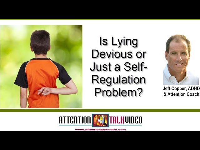 ADHD Parent Tip: Children Lying