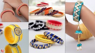 10 Wedding Wear Bangles.... DIY Handmade