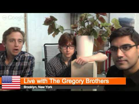 Live with The Gregory Brothers
