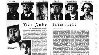 Nazis Once Published List of Jewish Crimes, Trump Now Pushing to Do the Same for Immigrant Crimes