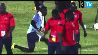 Tournoi UFOA, les U20 se qualifient aux tirs aux buts devant la Gambie!