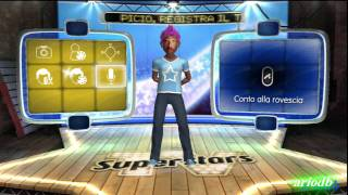 Playstation Move   Tv Superstars Frockstar Gameplay ITA