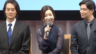 【動画6分】西島数博×真矢ミキ夫婦が音楽劇で9月に共演/「ドラマティック古事記」製作発表