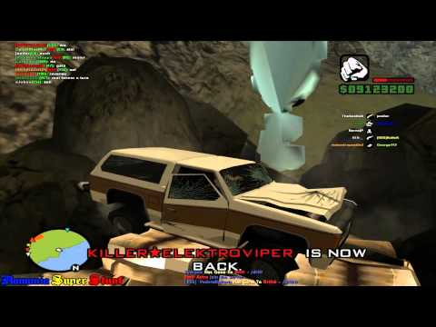 Let's Play Together GTA SA Fun Server #9 (German) (HD) - Offroad Tour
