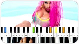 Nicki Minaj - Good Form ft Lil Wayne Piano Tutorial / Instrumental Chords Video
