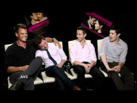 JOSH DUHAMEL, ELIJAH WOOD, JEREMY STRONG, ADAM BRODY ANS THE ROMANTICS INTERVIEW