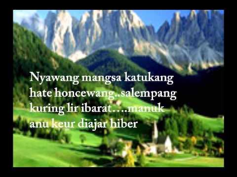 17 Puisi Bahasa Sunda dan Artinya Terbaru 2017