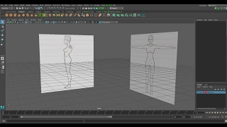 How to Setup Reference Images in Maya 2017