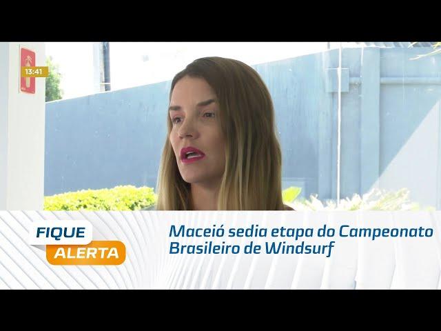Maceió sedia etapa do Campeonato Brasileiro de Windsurf